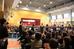 卒業式2013