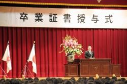 卒業式2013-5