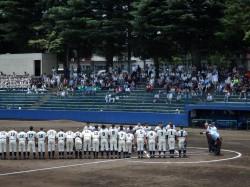 2014夏野球1回戦ー3