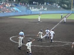 2016夏季野球2回戦ー10